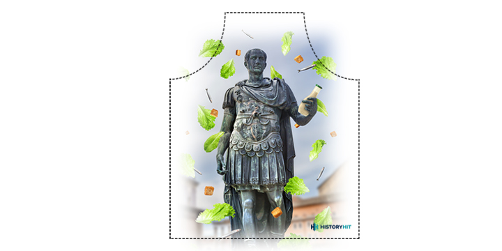 Julius Caesar Salad Historical Apron